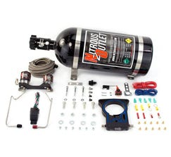 NITROUS OUTLET78MM - 99-06/2007 CLASSIC GM TRUCK HARDLINE PLATE SYSTEM - 50-200HP - 15LB BOTTLE - 00-10127-15