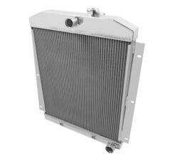FROSTBITE RADIATOR - ALUMINUM - 4-ROW - 1947-54 CHEVY PICKUP L6 - FB102