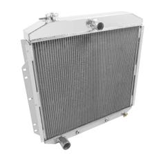 FROSTBITE RADIATOR - ALUMINUM - 4-ROW - 1953-56 FORD PICKUP L6/V8 - FB105