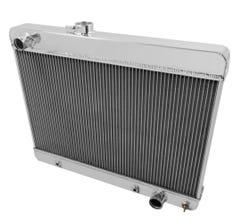 FROSTBITE RADIATOR - ALUMINUM - 4-ROW - 1965-67 PONTIAC GTO/ - FB140