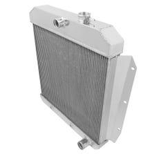 FROSTBITE RADIATOR - ALUMINUM - 4-ROW - 1955-59 CHEVY PICKUP L6/V8 - FB111