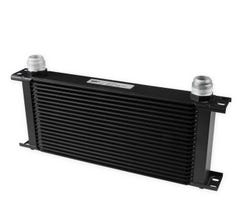 EARLS ULTRAPRO OIL COOLER - 20 ROW - EXTRA WIDE - BLACK - 820-16ERL