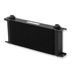 EARLS ULTRAPRO OIL COOLER - 20 ROW - EXTRA WIDE - BLACK - 820ERL