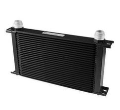 EARLS ULTRAPRO OIL COOLER - 25 ROW - EXTRA WIDE - BLACK - 825-16ERL