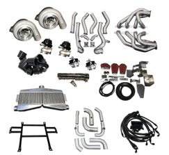 SPEED ENGINEERING Silverado & Sierra Twin Turbo Kit 2007-13 (4.8L, 5.3L, 6.0L, 6.2L) - 32-TWINKIT-0713