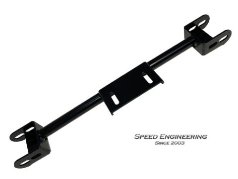 SPEED ENGINEERING - SILVERADO & SIERRA 4L80E 4WD CONVERSION CROSSMEMBER 2000-2006 - BLACK - 33-1025B