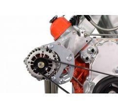 LS Truck HD Alternator Only Passenger Side Bracket Electric or Remote Water Pump - ICT551136-3