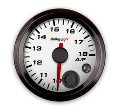 "HOLLEY EFI - 2-1/16"" AFR LEFT GAUGE - 10-18 - CAN BUS - WHITE - 553-131W"