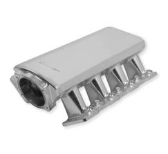 HOLLEY SNIPER INTAKE MANIFOLD - LOW PROFILE - 102mm - LS3/L92 - SILVER - 822111