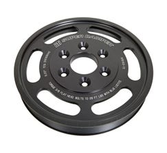"""PULLEY - SUPERCHARGER - 8.13"""" - 8 GRV - PRO CHARGER - C7 CORVETTE - LT1 - DRY SUMP-ATI916163"""