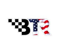 "BTR DECAL 6"" X 2.5"" USA FLAG - BTRDECALFLAG"