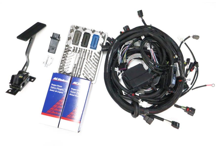 BP AUTOMOTIVE GEN V L86 HARNESS AND ECU KIT FOR 6L80-6L90E TRANSMISSION - ECK-500