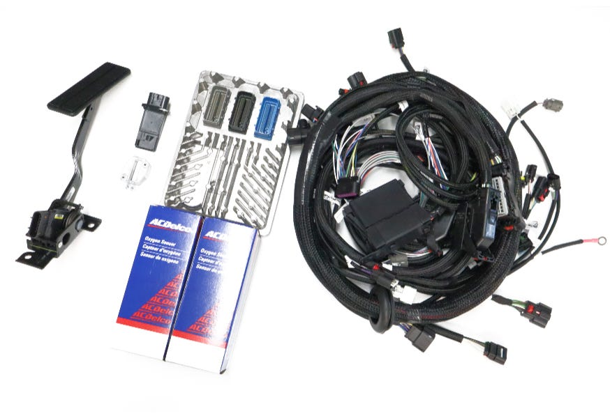BP AUTOMOTIVE GEN V L86 HARNESS AND ECU KIT FOR 8L90 TRANSMISSION - ECK-501