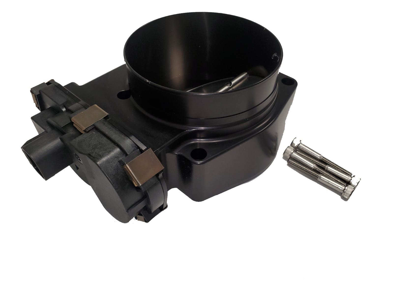 NICK WILLIAMS THROTTLE BODY - BILLET - GEN V - 103mm - DBW - BLACK - NW/GENV/103/DBW/BLK