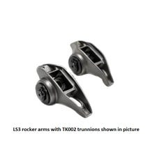LS3 ROCKER ARMS WITH BTR TRUNNIONS - LS3RKRS-16
