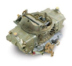 HOLLEY CARB - DOUBLE PUMPER - 4150 - 600CFM - 4 BARREL - DOMINATOR - MANUAL CHOKE - DUAL INLET - DICHROMATE - 0-4776C