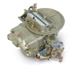 HOLLEY CARB - 2300 - 2300 - 350CFM - 2 BARREL - SQUARE BORE - MANUAL CHOKE - SINGLE INLET - DICHROMATE - 0-7448