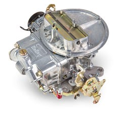 HOLLEY CARB - STREET AVENGER - 2300 - 350CFM - 2 BARREL - SQUARE BORE - ELECTRIC CHOKE - SINGLE INLET - DICHROMATE - 0-80350