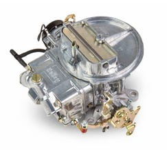 HOLLEY CARB - STREET AVENGER - 2300 - 500CFM - 2 BARREL - SQUARE BORE - ELECTRIC CHOKE - SINGLE INLET - POLISHED - 0-80500