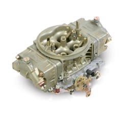 HOLLEY CARB - NASCAR REMAX - 4150HP - 750CFM - 4 BARREL - SQUARE BORE & DOMINATOR - NO CHOKE - DUAL INLET - DICHROMATE - 0-80528-1