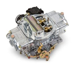 HOLLEY CARB - STREET AVENGER - 4150 - 570CFM - 4 BARREL - DOMINATOR - ELECTRIC CHOKE - DUAL INLET - SILVER - 0-80570