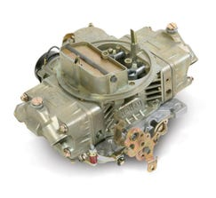 HOLLEY CARB - CLASSIC - 4150 - 650CFM - 4 BARREL - DOMINATOR - ELECTRIC CHOKE - DUAL INLET - DICHROMATE - 0-80783C