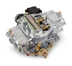 HOLLEY CARB - STREET AVENGER - 4150 - 570CFM - 4 BARREL - SQUARE BORE - ELECTRIC CHOKE - DUAL INLET - POLISHED - 0-83570
