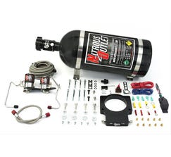 NITROUS OUTLET90MM 07-12 GM TRUCK HARDLINE PLATE SYSTEM - 50-200HP - 10LB BOTTLE - 00-10128-10