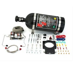 NITROUS OUTLET90MM 07-12 GM TRUCK HARDLINE PLATE SYSTEM - 50-200HP - 12LB BOTTLE - 00-10128-12