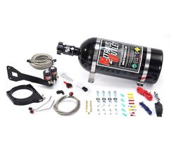 NITROUS OUTLET1999-2002 FAST 102MM TRUCK INTAKE HARDLINE PLATE SYSTEM AFTERMARKET RAILS - 50-200HP - 15LB BOTTLE - 00-10180-AFR-15
