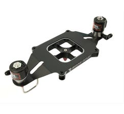 NITROUS OUTLET 4150 STINGER PLATE CONVERSION, WITH EFI CENTER SOLENOID BRACKET (50-400HP) (45-55PSI), 00-10609-SF