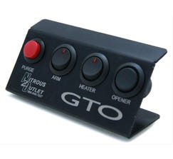 NITROUS OUTLET SWITCH PANEL - 04-06 GTO - FOLD UP - 00-11006