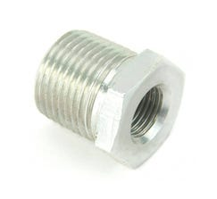 NITROUS OUTLET 3/8 MALE WITH 1/8 FEMALE BUSHING; 00-12514