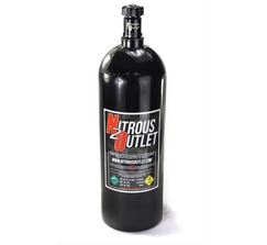 NITROUS OUTLET 20 LB NITROUS BOTTLE & HIGH FLOW VALVE, 00-30180