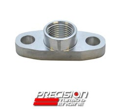 PRECISION OIL DRAIN FLANGE FOR SMALL FRAME TURBOS - 074-2008