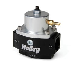 HOLLEY FUEL PRESSURE REGULATOR - DOMINATOR - ADJUSTABLE - EFI - 15-65 PSI - 12-848