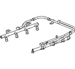 CHEVROLET PERFORMANCE FUEL RAIL - LSA - 12605222