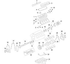 CHEVROLET PERFORMANCE INTAKE VALVE - LT4 - TITANIUM - 12650770