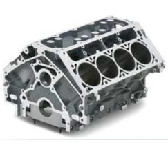 CHEVROLET PERFORMANCE ENGINE BLOCK - LSA - ALUMINUM - 12673476