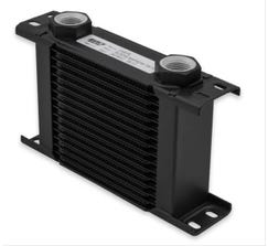 EARLS ULTRAPRO OIL COOLER - 16 ROW - NARROW - BLACK - 216ERL