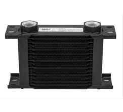EARLS ULTRAPRO OIL COOLER - 19 ROW - NARROW - BLACK - 219-16ERL