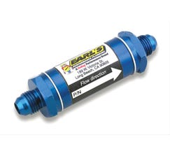 EARL'S FUEL FILTER - 6AN - BLUE - 35 MICRON - 230106ERL