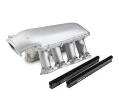 HOLLEY INTAKE MANIFOLD - HI-RAM - 92mm - LS7 - SATIN - 300-124