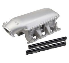 HOLLEY INTAKE MANIFOLD - MID-RISE - 92mm - LS1/LS2/LS6 - SATIN - 300-126