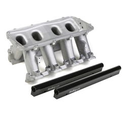 HOLLEY LOWER INTAKE MANIFOLD - HI-RAM - LS3 - SATIN - 300-214