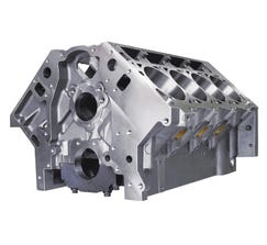 "DART ENGINE BLOCK - LS NEXT - 9.240"" DECK - 4.000"" BORE - FINISH HONED - IRON - 31867111"