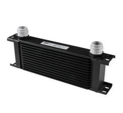 EARLS ULTRAPRO OIL COOLER - 13 ROW - WIDE - BLACK - 413-16ERL