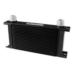 EARLS ULTRAPRO OIL COOLER - 19 ROW - WIDE - BLACK - 419-16ERL