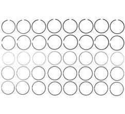 """MAHLE PREMIUM PISTON RING SET - 2006-2015 LS7 - 4.125"""" BORE - 42083CP"""