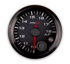 """HOLLEY EFI - 2-1/16"""" AFR LEFT GAUGE - 10-18 - CAN BUS - BLACK - 553-131"""